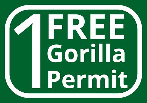 1 free gorilla permit_contour